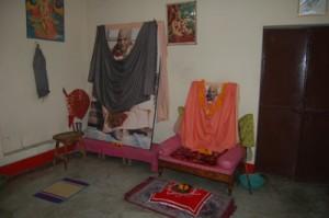 Srila Gour Govinda Swami Pushpa Samadhi