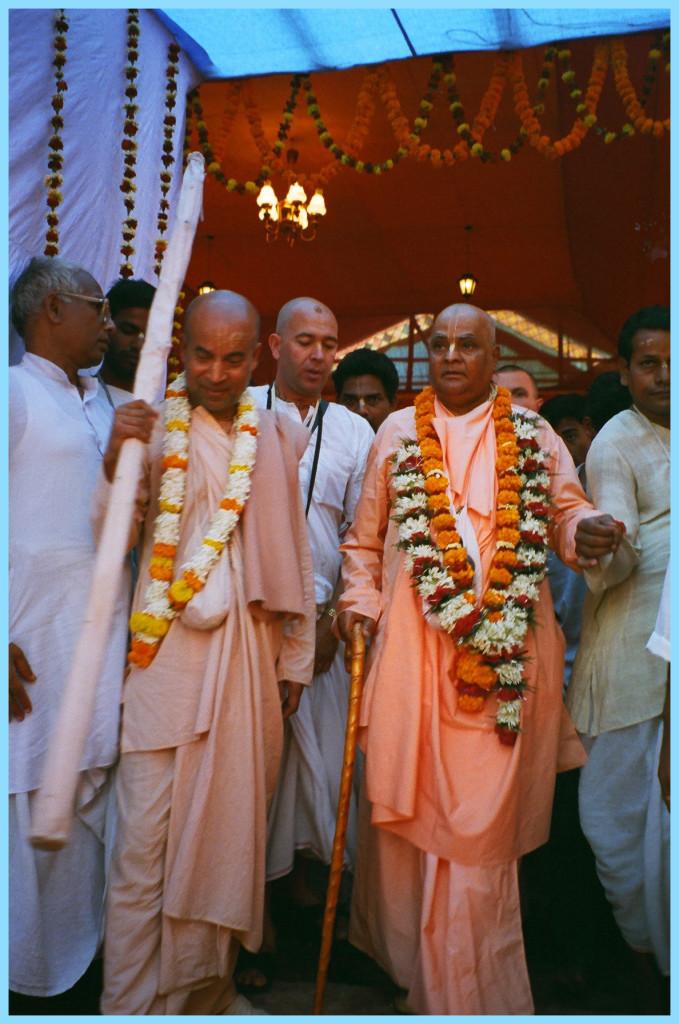 Sripad Subhag Maharaja and Sri Srimad Gour Govinda Swami