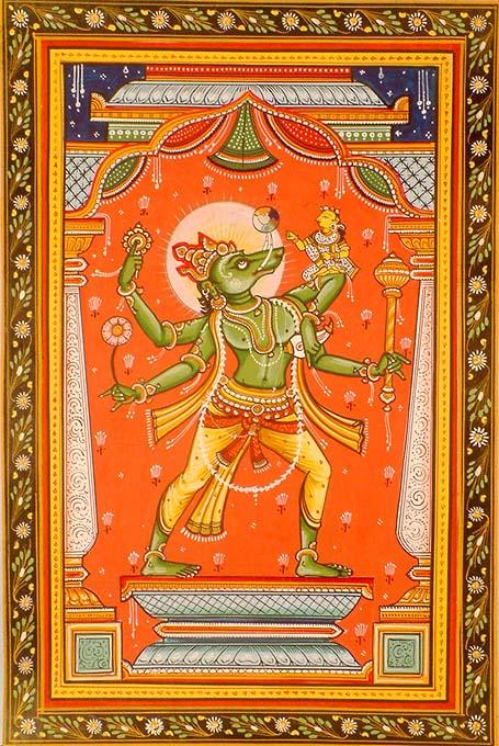Varaha Deva Vishnu's boar Avatar