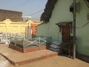 The well next to Sri Srimad Gour Govinda Swami's samadhi